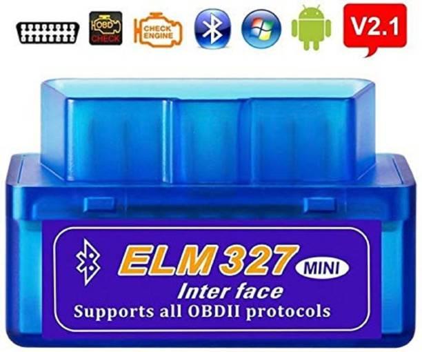 SPANTER Mini ELM327 Bluetooth V2.1 ELM 327 Car Code Reader OBD2 Car Diagnostic Tool For OBDII Protocol For Android/Windows OBD Reader