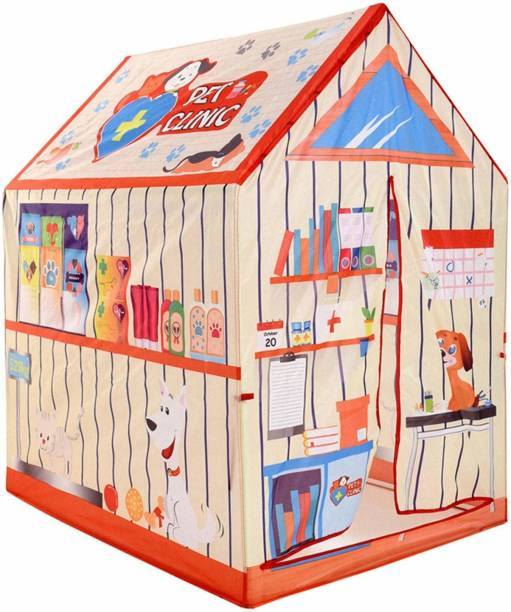 Tector Big Pet Clinic Playing Tent House