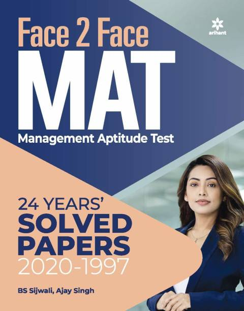 Face 2 Face MAT 24 Years' Solved Papers 2020-1997