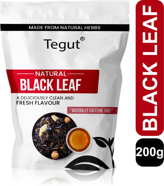 Tegut Black Leaf Tea |Reduce Blood Pressure|Reduce Sugar Levels|- 200g Unflavoured Black Tea Pouch -200GM Black Tea Pouch