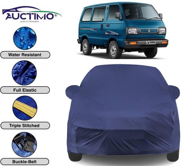 AUCTIMO Car Cover For Maruti Suzuki Omni (With Mirror Pockets)
