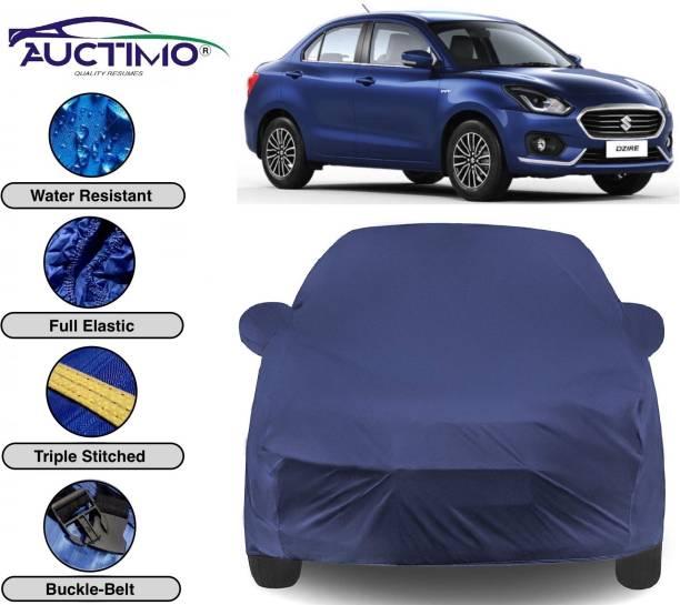 AUCTIMO Car Cover For Maruti Suzuki Swift Dzire (With Mirror Pockets)