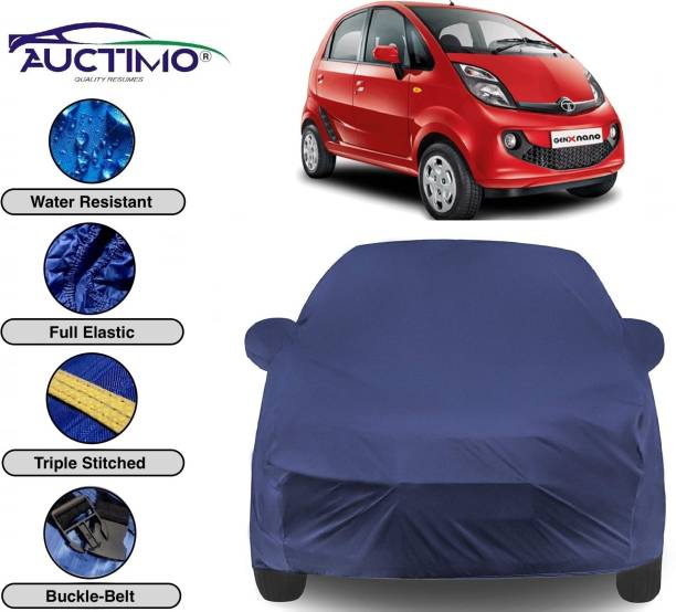 AUCTIMO Car Cover For Tata Nano (With Mirror Pockets)