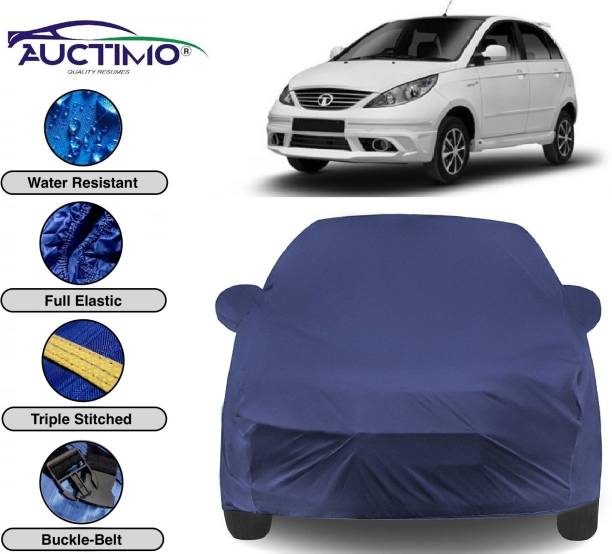 AUCTIMO Car Cover For Tata Indica Vista (With Mirror Pockets)