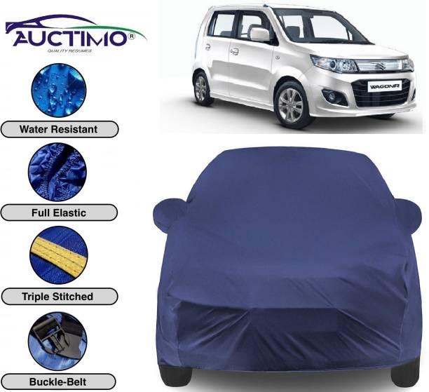 AUCTIMO Car Cover For Maruti Suzuki WagonR (With Mirror Pockets)