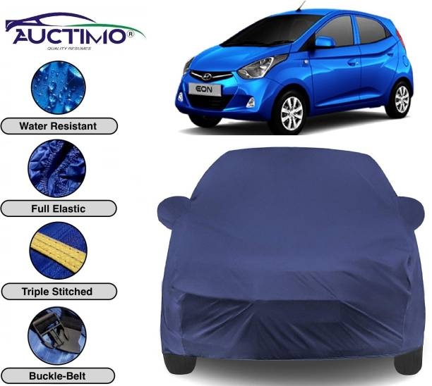 AUCTIMO Car Cover For Hyundai Eon (With Mirror Pockets)
