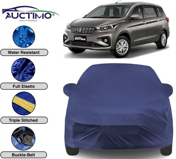 AUCTIMO Car Cover For Maruti Suzuki Ertiga (With Mirror Pockets)