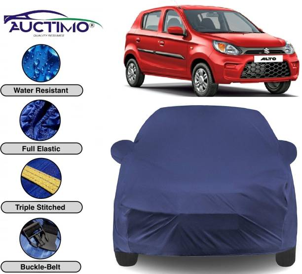 AUCTIMO Car Cover For Maruti Suzuki Alto 800 (With Mirror Pockets)