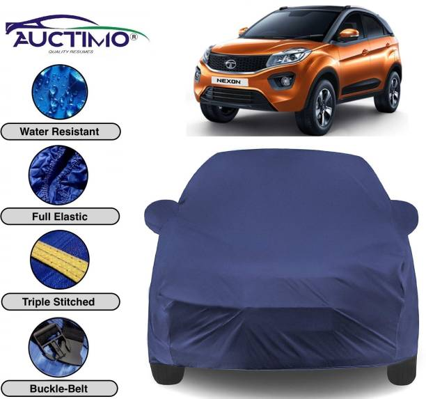 AUCTIMO Car Cover For Tata Nexon (With Mirror Pockets)