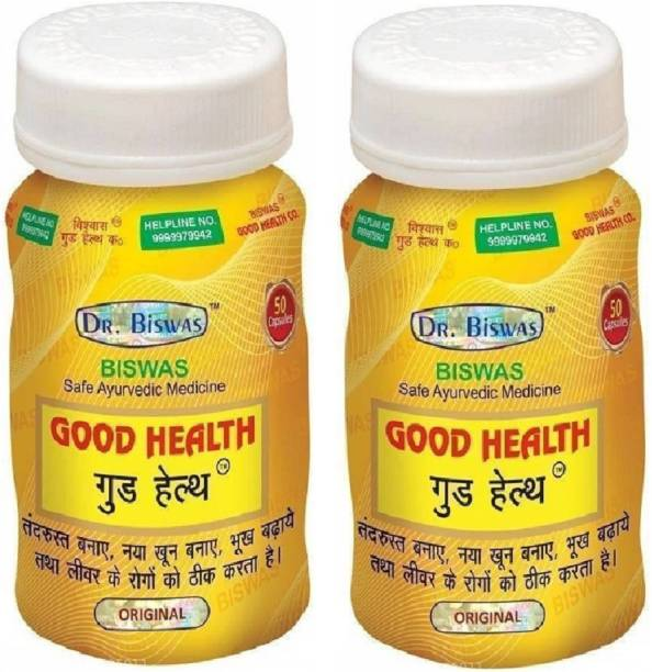 Dr. Biswas Good Health 50 Capsules (Pack of 2) 100 Capsules