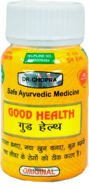 DR. CHOPRA PHARMACLS Good Health Dr. Chopra (50 Capsules)