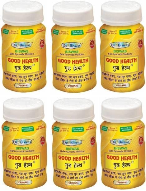 Dr. Biswas Good Health 50 Capsules (Pack of 6) 50X6=300 Capsules