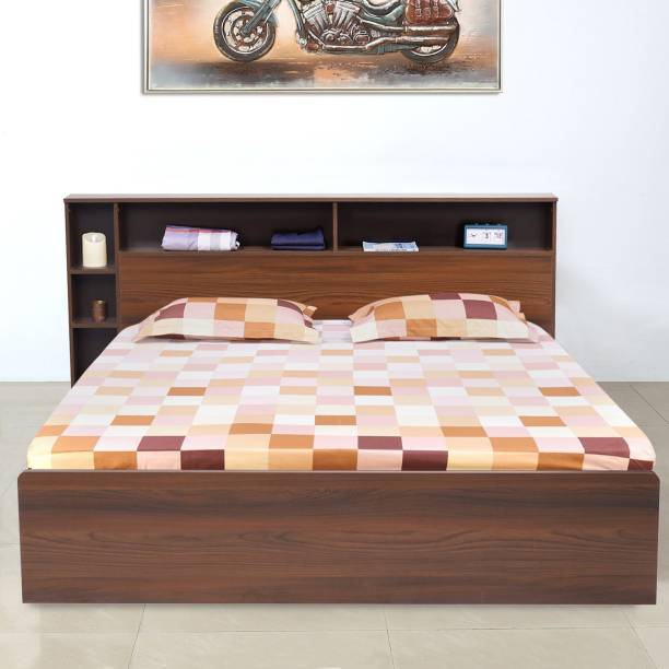 @Home by nilkamal Torrie Engineered Wood King Box Bed