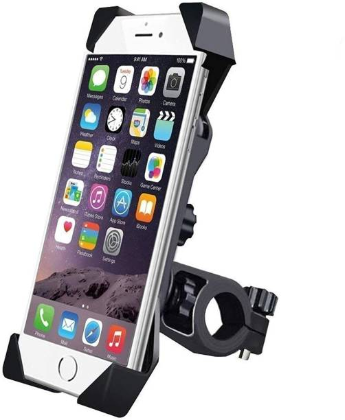 HelloX Universal Bike Holder 360 Degree Rotating Bicycle Holder Motorcycle Cell Phone Cradle Mount Holder for All Size Mobile Phones Bike Mobile Holder