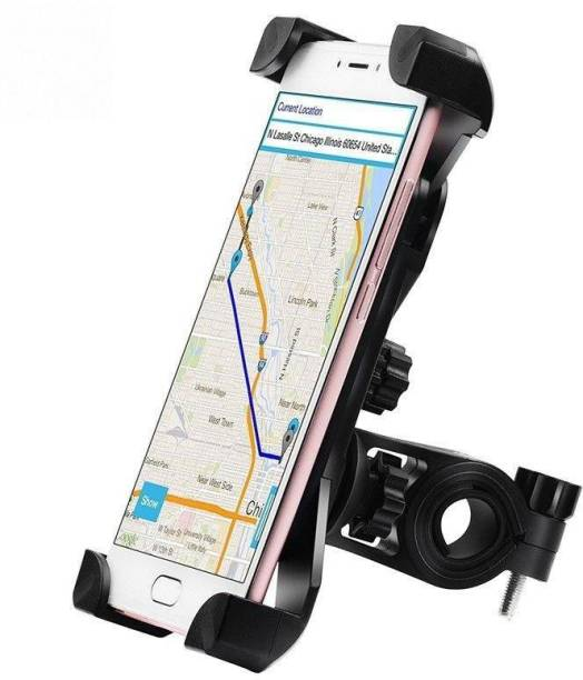 Speeqo Universal Bike Holder 360 Degree Rotating Bicycle Holder Motorcycle Cell Phone Cradle Mount Holder for All Size Mobile Phones Bike Mobile Holder