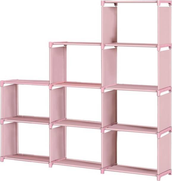 FURIONE 12 SHELVE MULTIPURPOSE Metal Open Book Shelf