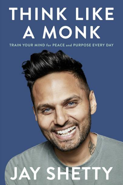 Think Like a Monk - book for peace and prosperity with 0 Disc