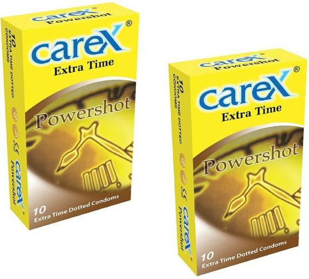 CAREX Extra Time Power Shot Premium condom Condom