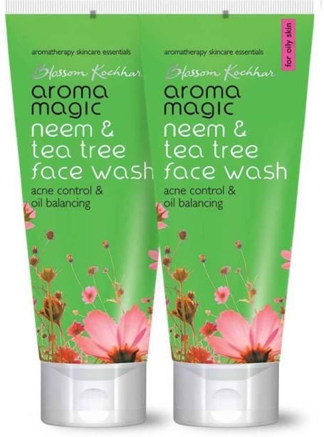 Aroma Magic Neem & Tea Tree Face wash pack of 2 Face Wash