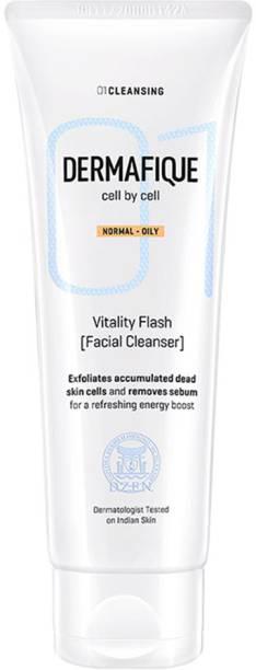Dermafique Vitality Flash Facial Cleanser Face Wash