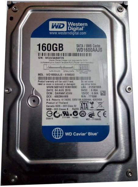 WD CAVIER 160 GB Desktop Internal Hard Disk Drive (WD1600AAJSP)