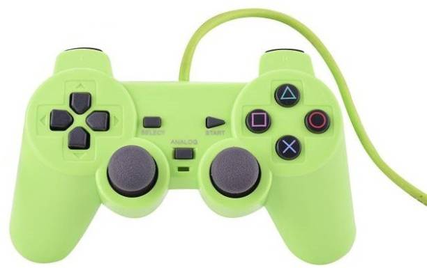 Clubics Wired PS2 Green Motion Controller for PS2  Motion Controller