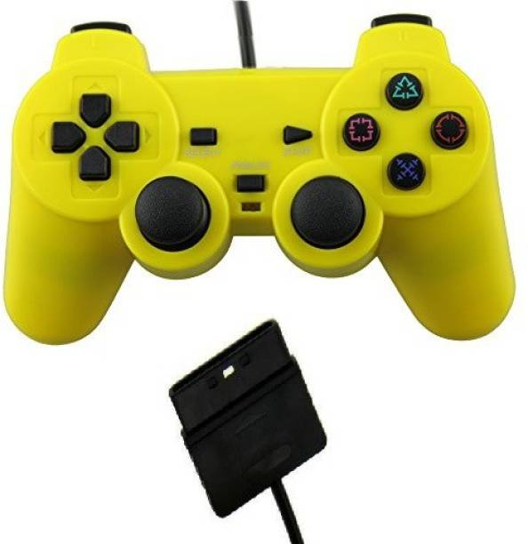 Clubics PS2 Yellow Wired Controller (Wired)  Motion Controller