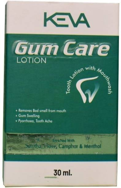 KEVA Gum Care Lotion | Tooth Lotion with Mouthwash | Helps in Gum Swelling and Removes Bad smell from Mouth. - Pleassantly flavoured