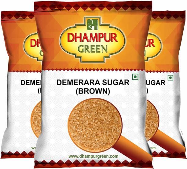 Dhampur Green ( Demerara ) Brown Sugar