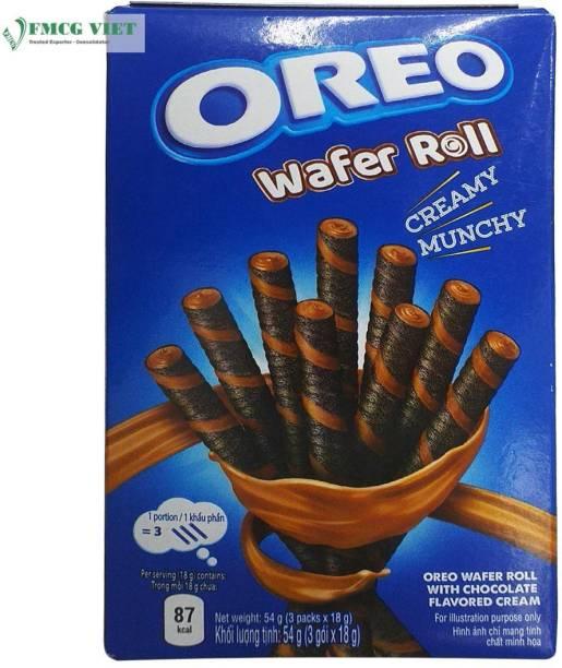 Mondelez International Oreo Chocolate Wafer Roll,54g Wafer Rolls