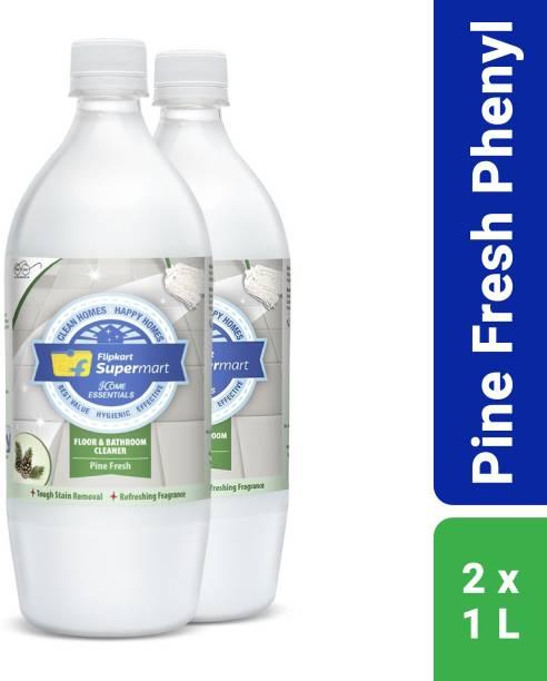 Flipkart Supermart Home Essentials Floor and Bathroom Cleaner Pine Fresh