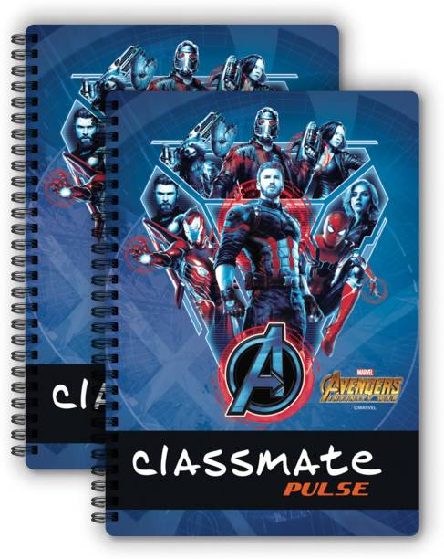 Classmate Pulse Notebook 240mm x 180mm Book-size Notebook Single Line 180 Pages