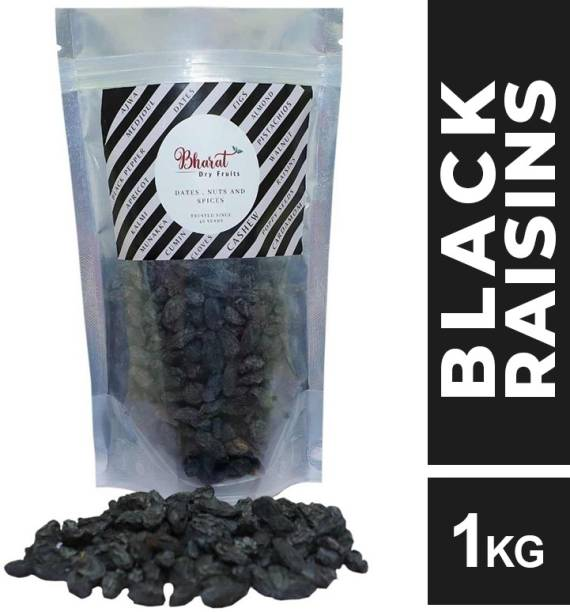 Bharat Black Raisins ( Seedless ) Premium quality Afghani Raisins