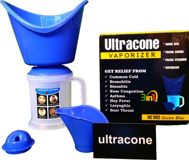 Ultracone 3 In 1 Vaporizer for Deep Face Cleaning Vaporizer & Steamer for Cough & Cold Vaporizer Vaporizer
