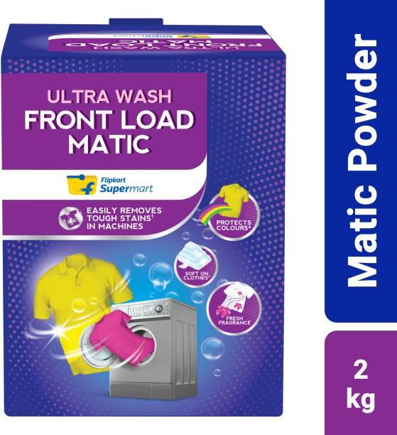 Flipkart Supermart Front Load Matic Detergent Powder 2 kg