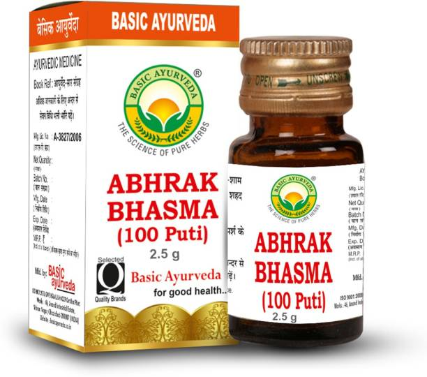 Basic Ayurveda Abhrak Bhasma (100Puti)
