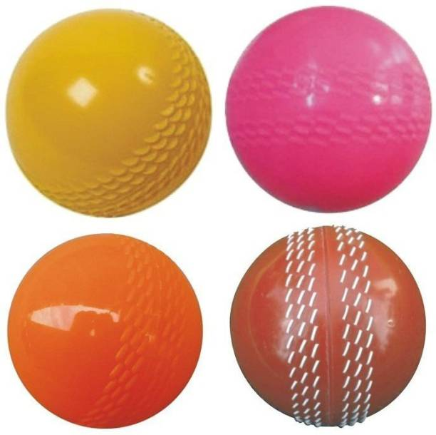 RAMEX Multicolour Soft Wind Synthetic Ball for Cricket Cricket Synthetic Ball