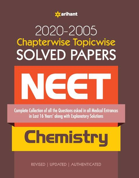 Chapterwise Topicwise Solved Papers Chemistry for Medical Entrances 2021