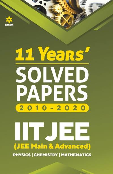 11 Year's Solved Papers Iit Jee Mains & Advanced 2021