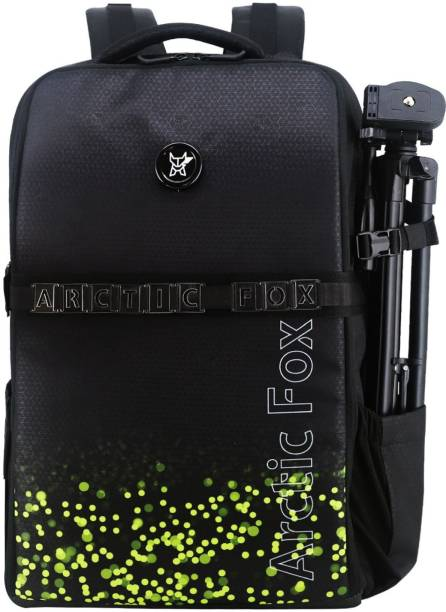 Arctic fox Click Lime Popsicle Camera Backpack to carry DSLR SLR Lens with Tripod Holder  Camera Bag