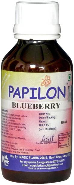 PAPILON CONCENTRATED BLUEBERRY FOOD FLAVOUR Blueberry Liquid Food Essence