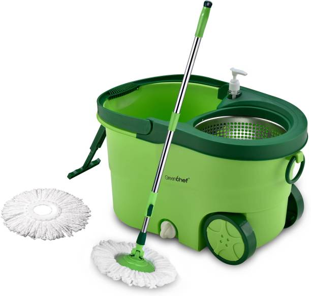Greenchef Spin 360 Degree Stainless Steel Mop