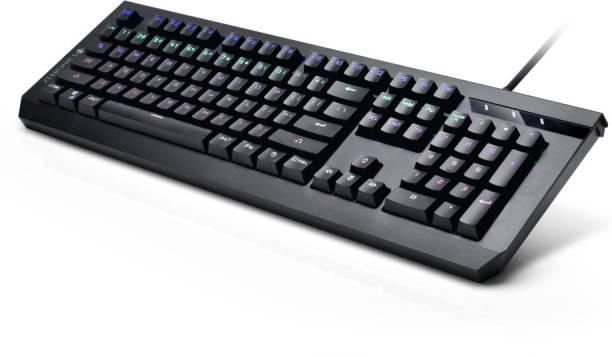 ZEBRONICS MECHANICAL Max Plus Wired USB Gaming Keyboard