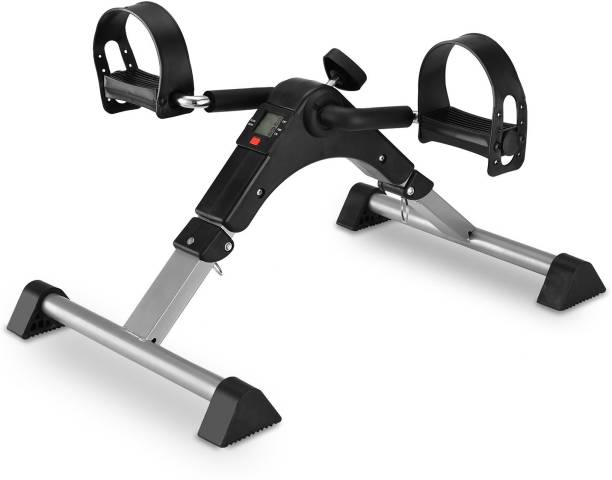 Gadget Hero's Digital Smart Foldable Fitness Cycle, Portable Mini Gym, Mini Pedal Exerciser Cycle