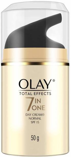 OLAY Day Cream: Total Effects 7 in 1, Anti Ageing Moisturiser (SPF 15)