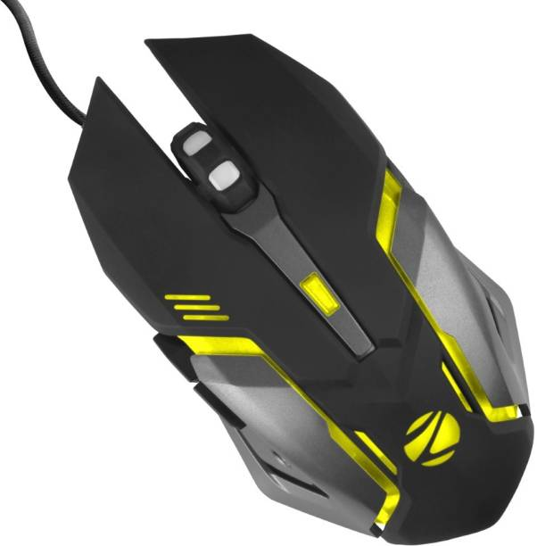 ZEBRONICS ZEB-TRANSFORMER-M Wired Optical  Gaming Mouse