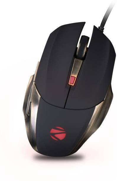 ZEBRONICS Alien Pro Premium Wired Optical  Gaming Mouse