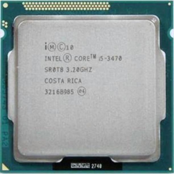 Intel Core i5-3470 3.2 GHz Upto 3.6 GHz LGA 1155 Socket 4 Cores 4 Threads 6 MB Smart Cache Desktop Processor (Silver) 3.2 GHz LGA 1155 Socket 4 Cores Desktop Processor