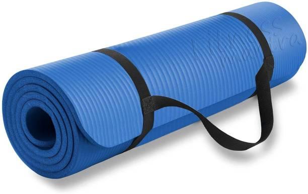 Fitness Mantra 6mm Premium EVA Quality Mat with Yoga Strap 6 mm Yoga Mat