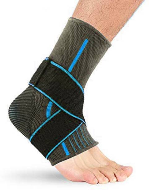 Leosportz Adjustable Ankle Brace for Injury and Pain Support Ankle Support